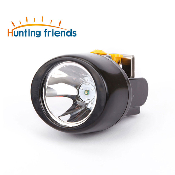 Hunting Friends Wireless LED Miner Lamp KL3.0LM Waterproof Headlight Explosion Rroof Cap Lamp Rechargeable Mining Headlamp