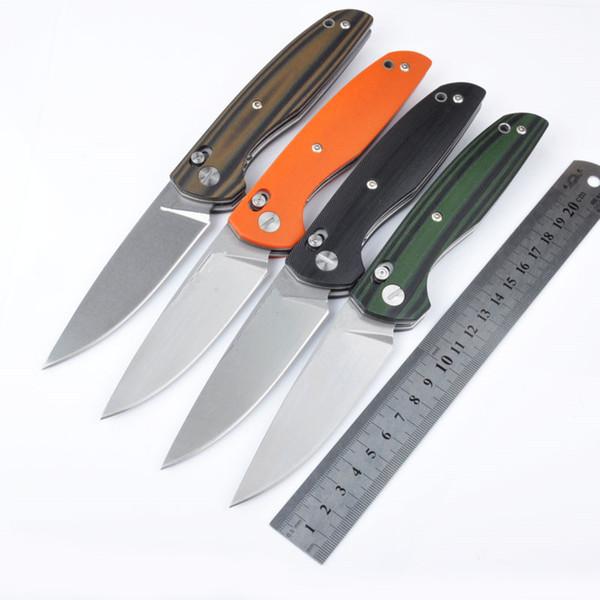 Shirogorov 110 pro 60HRC Axis Lock 100% D2 lame couteau pliant couteau de survie camping outils de chasse en plein air 1pcs livraison gratuite