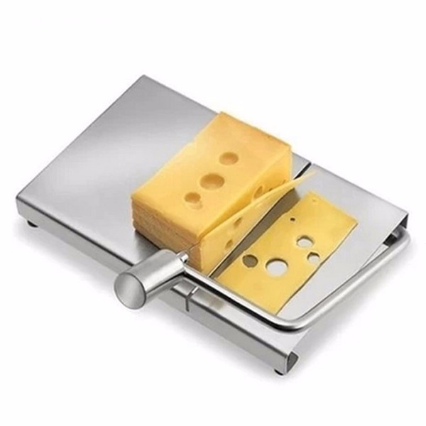 Acero inoxidable Ecológico Cheese Slicer Butter Cutting Board Butter Cutter Knife Board Kitchen Kitchen Tools Nuevo