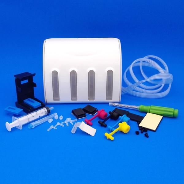 Tanque de tinta CISS Cartucho de tinta universal 61 62 63 usado em todos os escritórios da impressora a jato de tinta 5640 2130 3630 3830 Sistema de suprimento contínuo