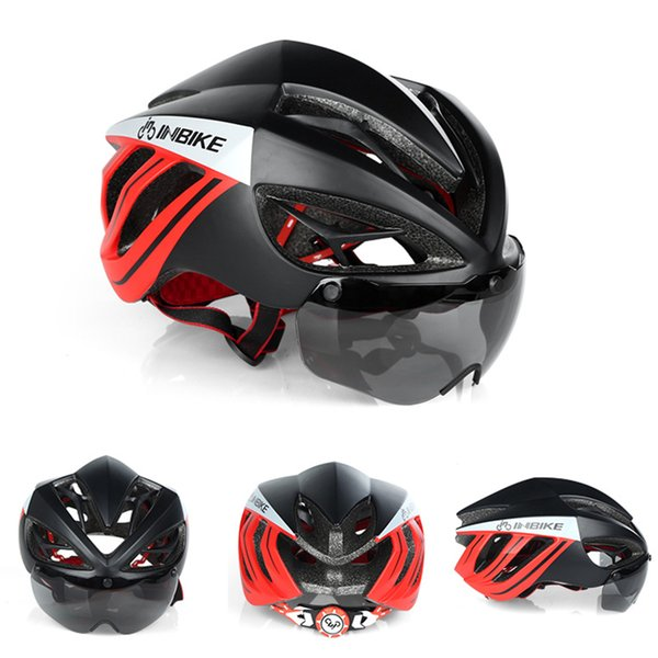 Bicycle Helmet Goggles Adult Mountain Road Bike Magnetic Helmets Lens Ciclismo Man Women Cycling Accessories Helmets