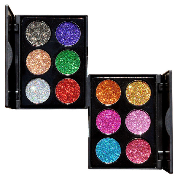 Eyes Makeup Luminous Eye Shadow Glitters Palette Luminous Shinning Make up Shimmer Eyeshadow Kit Pearly Glitter Shadows Powder