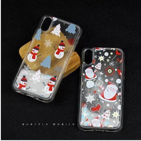 hot sale p 8 liquid quicksand phone case plus new case all-inclusive soft embossed creative factory customization