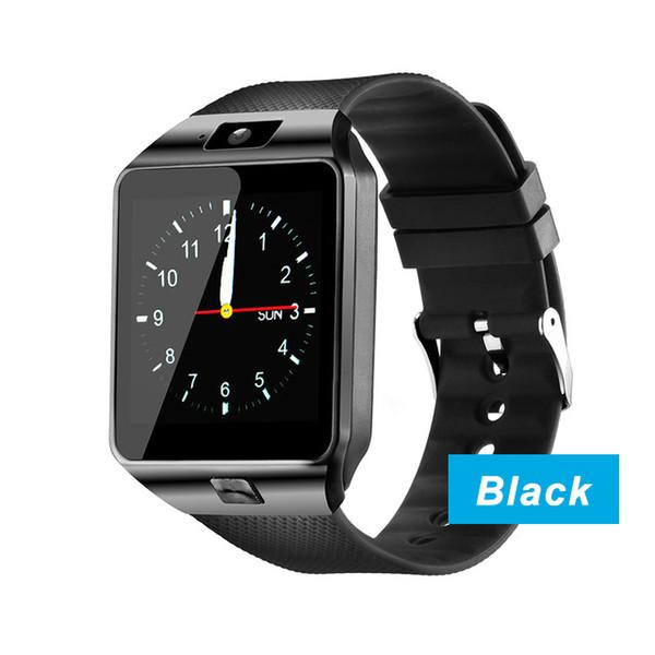DZ09 reloj inteligente_negro