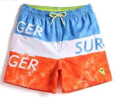 top popular 2017 summer new children's clothing children's beach pants quick-drying boys shorts thin section sports hot pants tide 2021