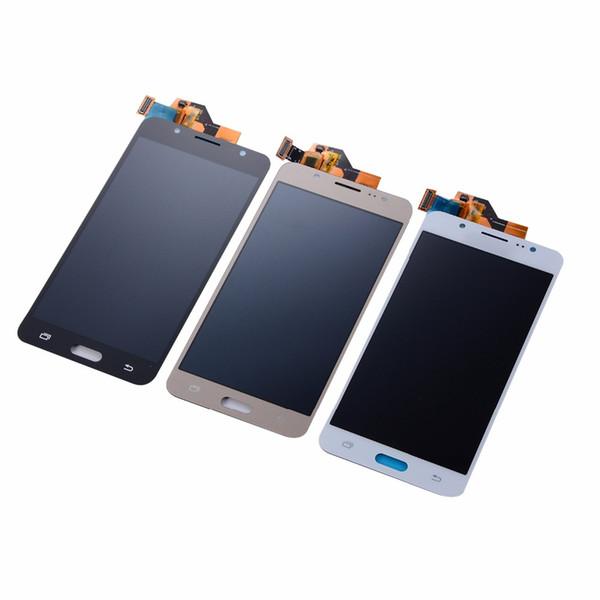 Para J5 2016 SM-J510F J510FN J510Y J510M J510G Pantalla LCD Asamblea de digitalizador de pantalla táctil