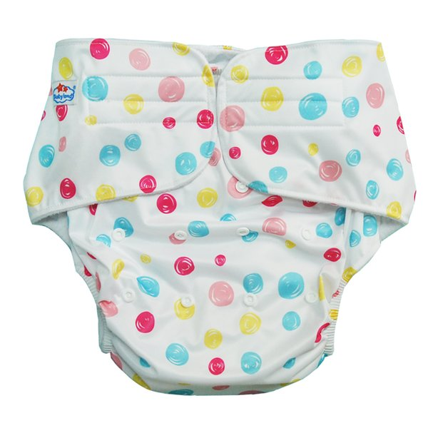 Adult Cloth Diaper(10 Pieces A lot)Washable Microleece Pocket Cloth Nappy +10 Pieces (4) Layers Microfiber Insert by Fedex