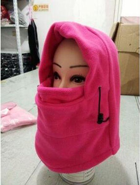 Campeggio esterno nero invernale termica Hood Sci Equitazione moto antivento completa del collo maschera di protezione Kit di copertura del cappello di viaggio