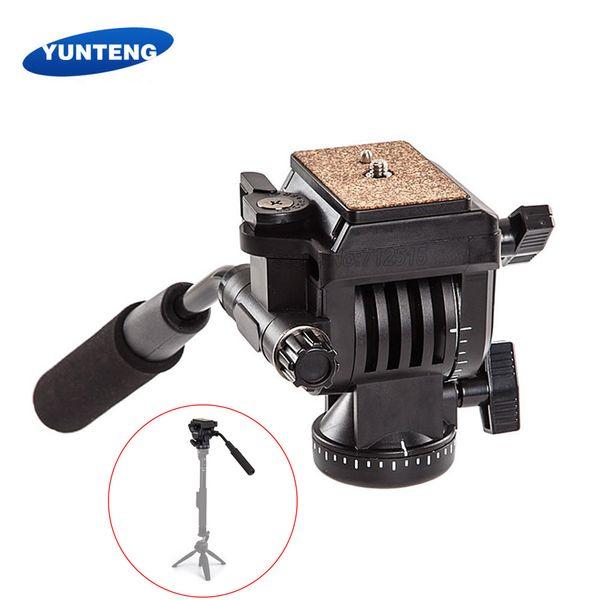YUNTENG YT-930 Heavy Duty Camera Tripod Ball Head with 2 Quick Release Plates for Canon Nikon  DSLR Camera