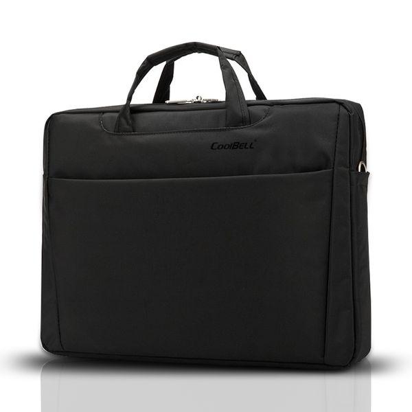 "Cool bell Fashion 17"" Laptop Bag High Quality Nylon Casual Men Messenger Bag Business Men's Travel Handbag Free Shipping D034"