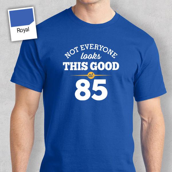 85th Birthday Gift Present Idea For Boys Dad Him Men T Shirt 85 Tee 1932