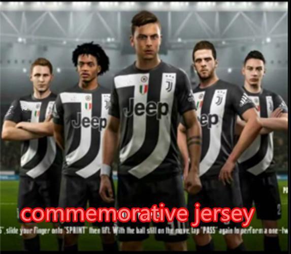 size 40 ccf3a 29725 2019 New Juventus Commemorative Jersey RONALDO JUVENTUS Football Uniform 18  19 JUVE DYBALA Football Shirt MANDZUKIC Quality Uniform Team From ...