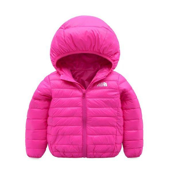 Gesicht Norden Baby Kinder Mantel meistverkauften neuen Jungen s Baumwolle Kleid Mädchen s reine Farbe Hut und leichte Baumwolle gepolsterte Jacke-002-2
