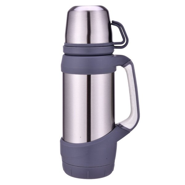 Vacuum Flasks Thermoses Stainless 0.8L 1L Big Size Outdoor Travel Cup Thermos Bottle Thermal Coffee Thermoses Cup fashion