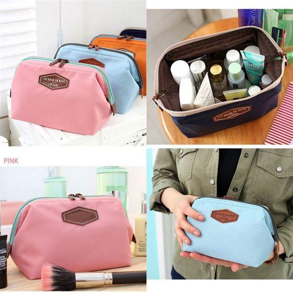 Storage Bag Handbag Wash Pouch Holder Bags 4 Colors Korea Mini Bags Women Makeup Cosmetic Bag Home Organizer Travel Toiletry