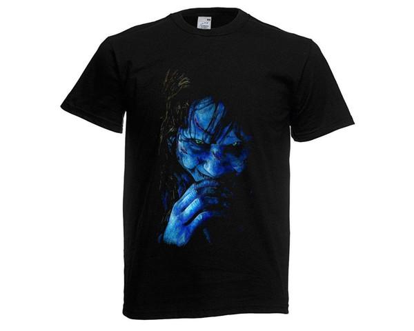 La camiseta del exorcista ¡Nuevo! Cool T-Shirts Designs Best Selling Men