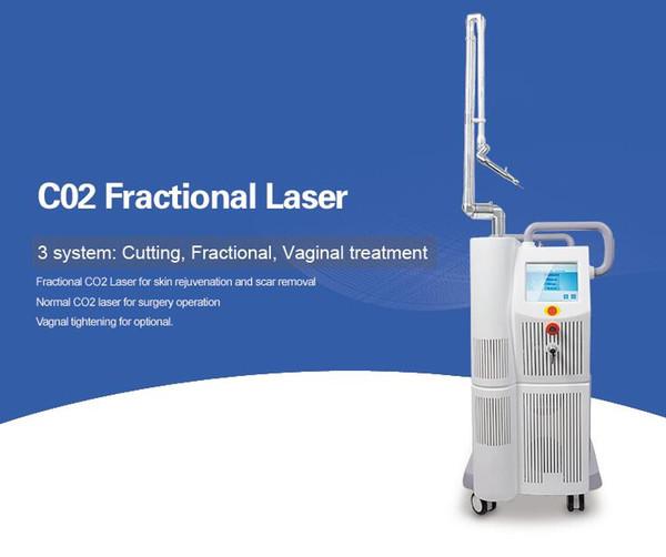 Salon utilisent le CO2 laser fractionnel pour vaginal serrage et l'élimination Scar traitement de l'acné de la peau avec Rejuvenal CE Livraison gratuite