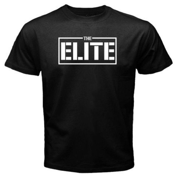 New The Elite Club NJPW Logo Young Bucks Men's Black T-Shirt Size S-3XL
