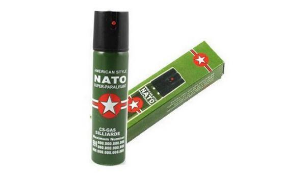 Hot Sell NEW 2PCS/Lot NATO CS-GAS 60ML PEPPER Perfume SPRAY sex maniac Men Women Security self-defense Free shipping