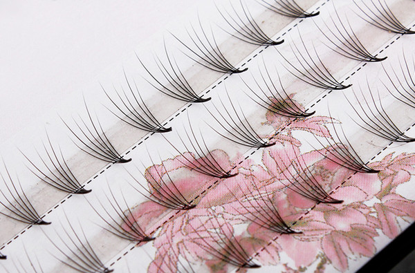 Eyelashes Extension 60 Clusters Soft Stem Natural Curl Fake Eyelash 6Pcs/cluster 0.07mm Lash extension Upper Eyes 8mm / 10mm/ 12mm Looks So