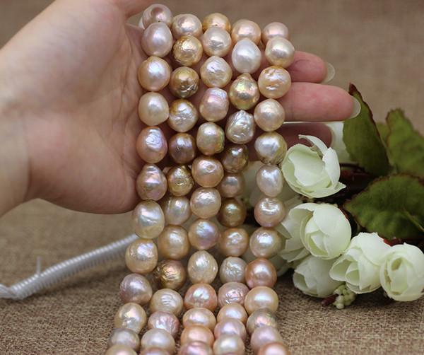 Barocke Perlen Schmuck Natürliche Süßwasserperle Lose Perlen für Frauen Halsketten Ohrringe Ringe Armbänder Brosche Natural Special-Shaped Pearl