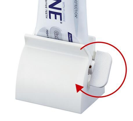Free Shipping Rolling Toothpaste Tube Squeezer Toothpaste Cosmetic Seat Dispenser Holder Stand