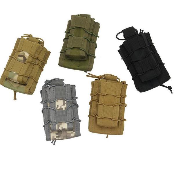 Outdoor Tactical bag Climbing Bag waterproof hiking Hip Waist Belt Wallet Pouch Purse Phone Case for Phone multi-function waist pocket