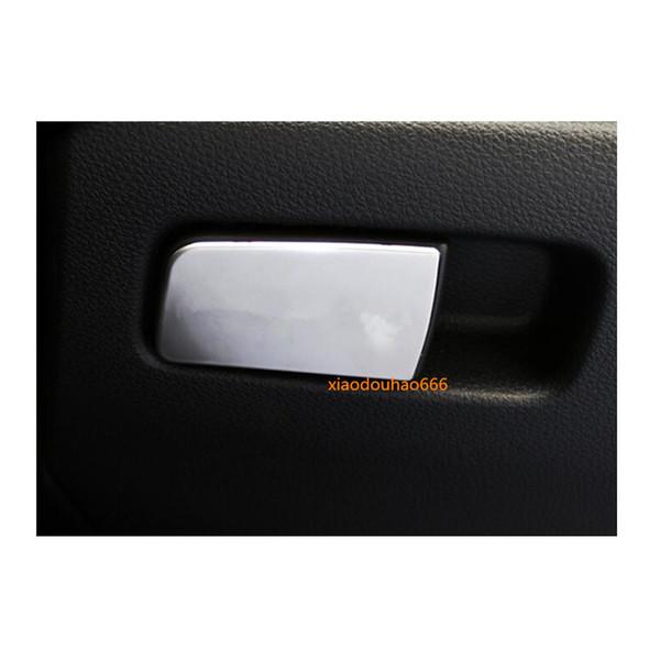0a48ce84ca24 venta caliente car styling cover detector ABS cromo copiloto guantera  ajuste lentejuelas panel frontal 1 unids para Honda Civic 10mo sedán 2016  2017 2018