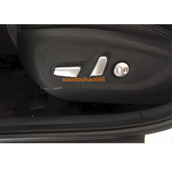 Für Kia kx5 Sportage 2016 2017 2018 auto styling abdeckung detektor ABS Chrom sitz einstellknopf taste schalter trim Zubehör rahmen 5 stücke