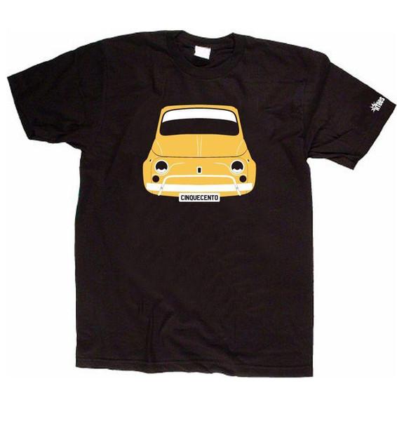 Chopper /& Old schooldruck modèle Chrome T shirt en Graphiteton avec un motard-
