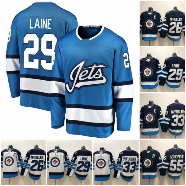 premium selection 45c68 3a175 2019 Winnipeg Jets 2016 Heritage Classic 29 Patrik Laine Jersey Mens 26  Blake Wheeler 33 Dustin Byfuglien 55 Mark Scheifele Hodkey Jerseys From  Tobe ...