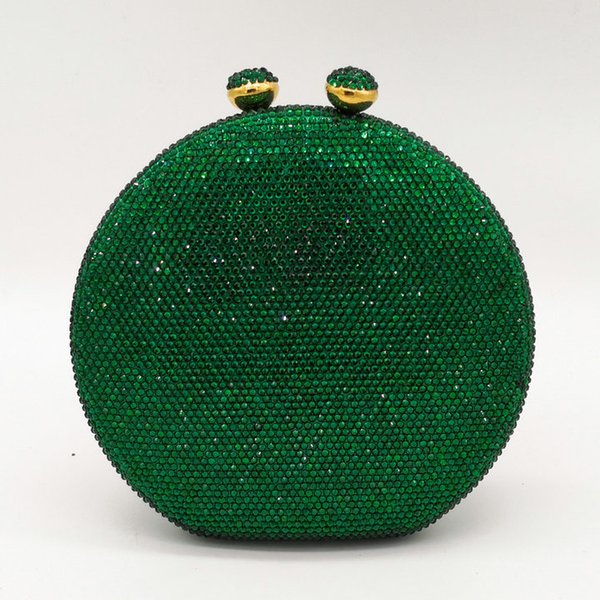 Green Crystal Bag