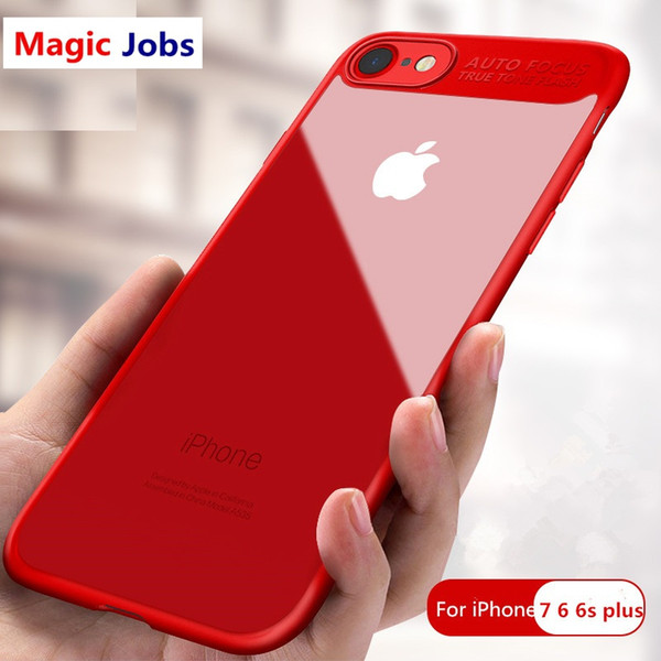 Magic_Jobs For Apple iPhone X 8 7 6 6s Plus Luxury Protection Mobile Phone Case Capa Cover Coque Protective for iPhone6 iPhone 6 7 8 X Case