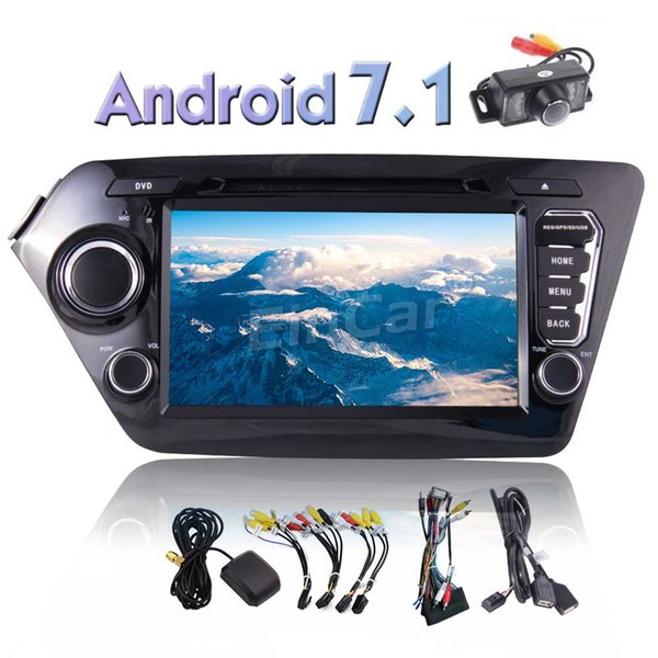 """8"""" Car DVD Player Android 7.1 Car Stereo for KIA K2 Support GPS Navigation Bluetooth FM/AM Radio USB/SD Phone Link"""