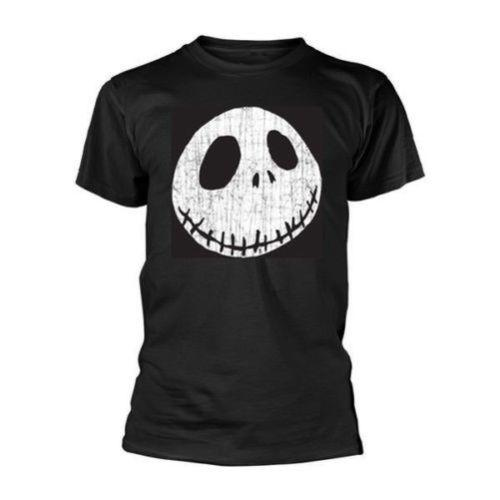 New Official NIGHTMARE BEFORE CHRISTMAS, THE - CRACKED FACE T-Shirt