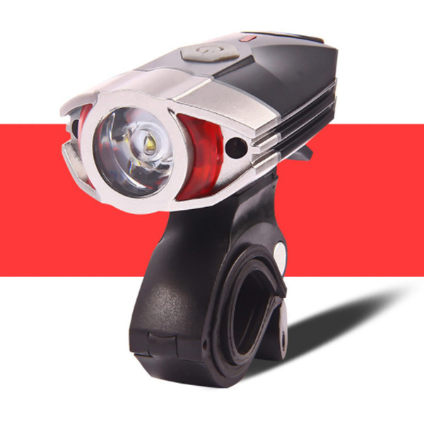 Usb Charging 300 Lumens Super Bright Bike Lights Mountain Bike Safety Warning Handlebar Bicycle Light Headlight for Bicycle