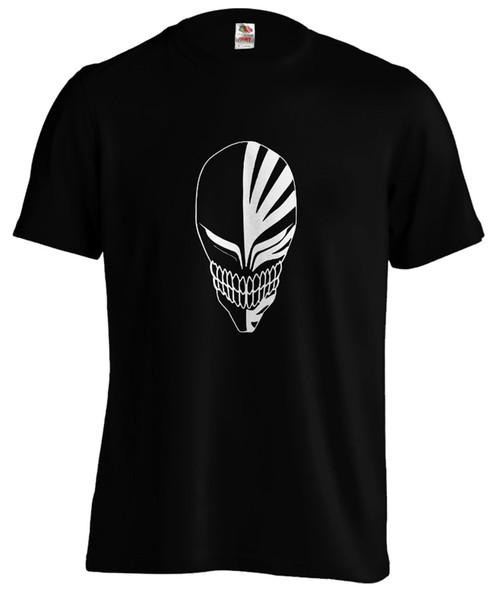 Bleach Ichigo Hollow Máscara Anime T shirt Tee divertido envío gratis Unisex Casual camiseta de regalo