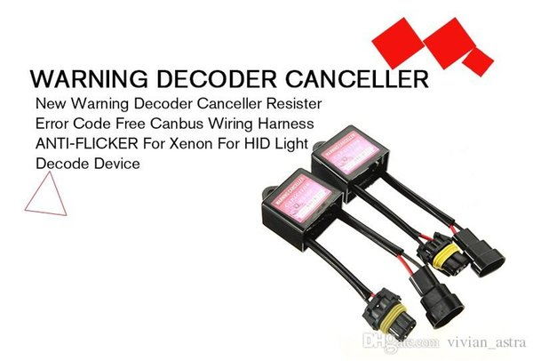 2017 New Warning Decoder Canceller Resister Error Code Free Canbus Canbus Wiring on