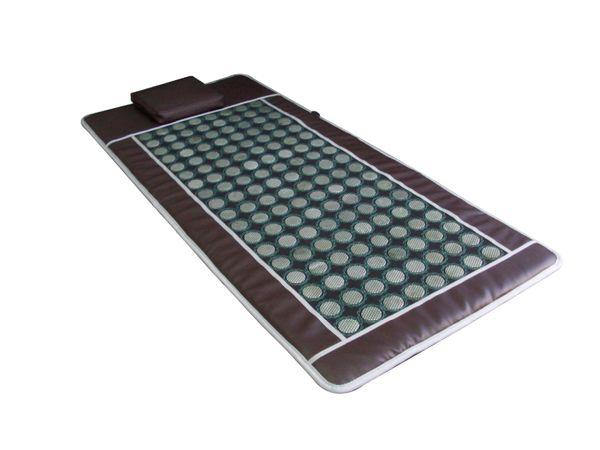 2018 plus récent !!! Tapis de chauffage infrarouge lointain portable tapis de massage thermique infrarouge jade stone / Minceur couverture