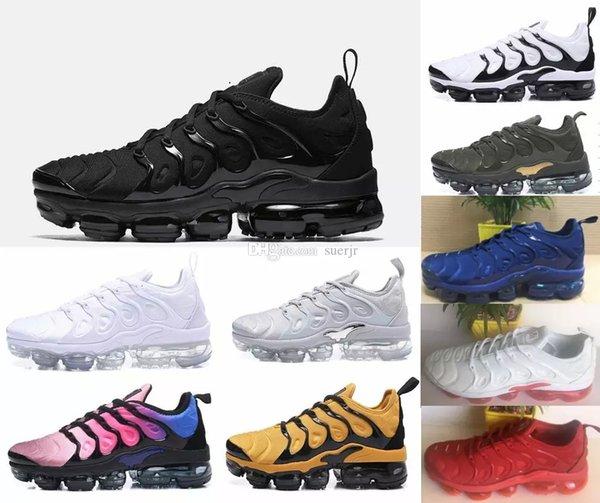 2018 Vapormax Plus TN scarpe da donna per uomo casual sneakers scarpe  sportive all aperto bab16533e50