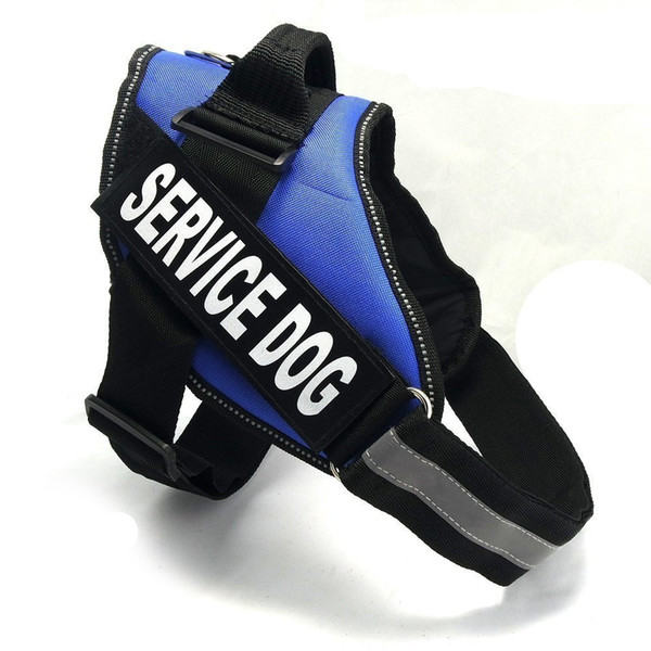 Adjustable Service in Training Dog Harness,Dog Reflective Vest with in Training Patches for Large Medium and Small Dogs