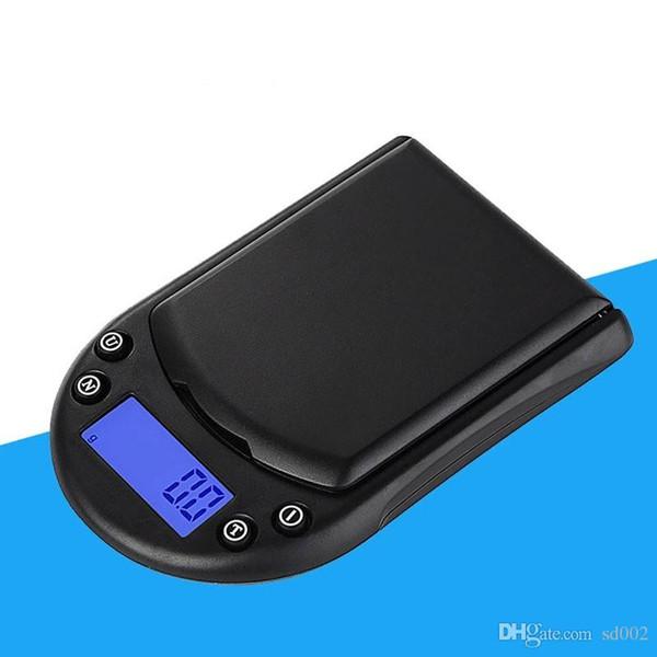Balance électronique de haute précision de précision Portable Mini Palmar Pocket Cuisine Balance de pesée Affichage rétroéclairé LCD Digital Hot Sale 20ty Ww