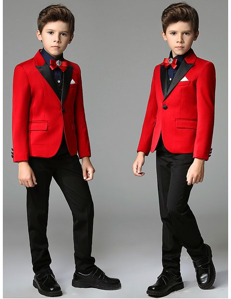 Customized 2018 new design suit dress, stylish and sophisticated boy suit, suitable for wedding party parties.
