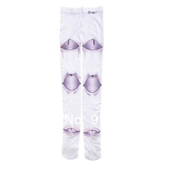 2017 New Design Fashion Harajuku Girl Women Doll Ball Joint Stockings Tattoo Print Pantyhose Tights