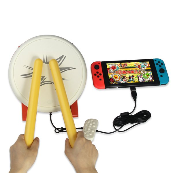 Taiko Drum Taiko No Tatsujin Controller For Switch Console Game Accessories Combined Type Home Games Fitness Equipment