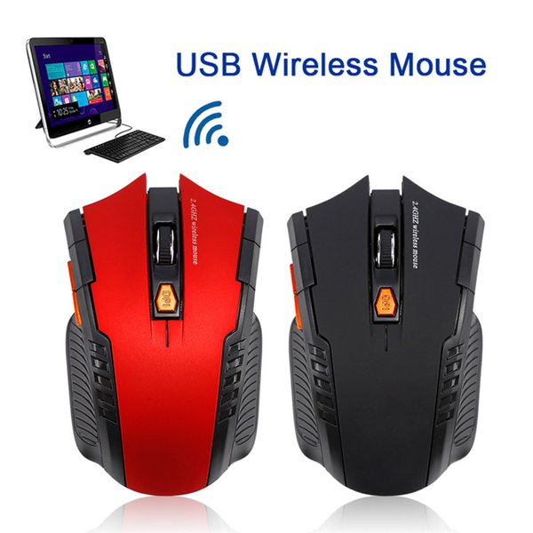 Wireless Mouse Computer Gaming Laser New Optical 2.4Ghz Mouse sem fio 1600DPI Professional Gamer Mause Mice for Laptop pc