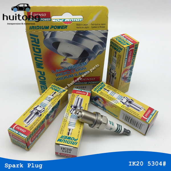 Envío gratis 4 unids / lote Denso Iridium Power Spark Plug IK20 Velas del coche para Toyota Audi Volkswagen Mitsubishi Subaru Honda