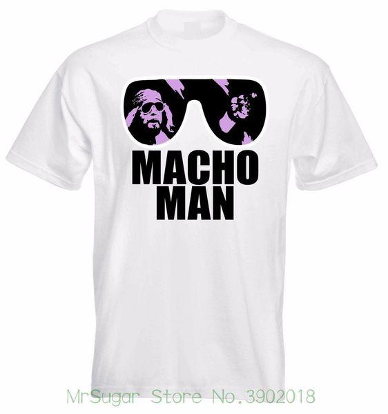 Macho Man Randy Savage T-Shirt Neueste 2018 Mode Fremde Dinge T-Shirt Männer