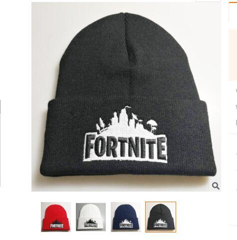 Game Fortnite Knitting Caps Teenager Winter Warm Hat Unisex Warm Knitted Beanies Hats Hip Hop Sports Hat