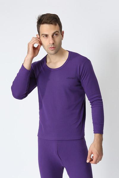 Purple O collar